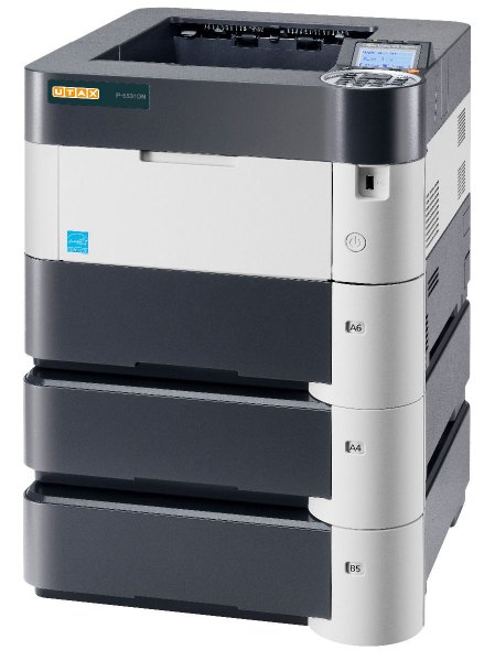 Imprimanta laser monocrom UTAX P-5531DN A4, 55 ppm, 1200dpi, 512MB ram, USB2.0, LAN 1
