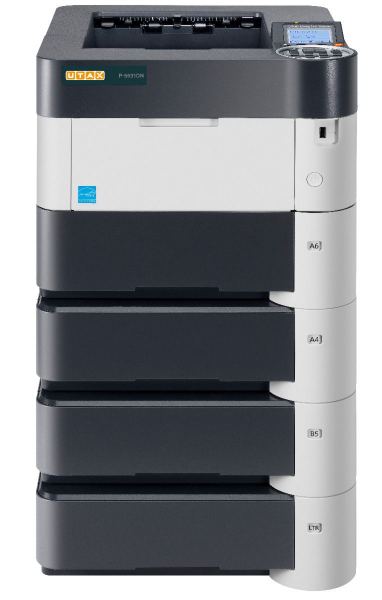 Imprimanta laser monocrom UTAX P-5531DN A4, 55 ppm, 1200dpi, 512MB ram, USB2.0, LAN 0