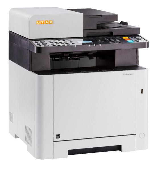 Multifunctional Laser Color UTAX P-C2155W MFP A4, 21 ppm, 600dpi, 512MB RAM, USB2.0, LAN, Wi-Fi, Duplex, Print, Copy, Scan, Fax 2