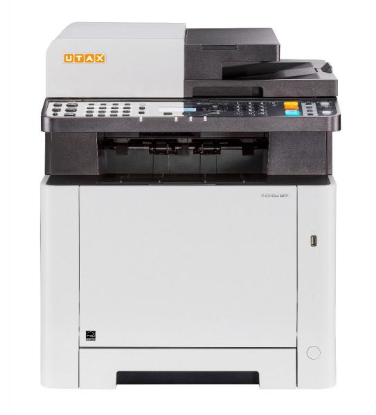 Multifunctional Laser Color UTAX P-C2155W MFP A4, 21 ppm, 600dpi, 512MB RAM, USB2.0, LAN, Wi-Fi, Duplex, Print, Copy, Scan, Fax 1