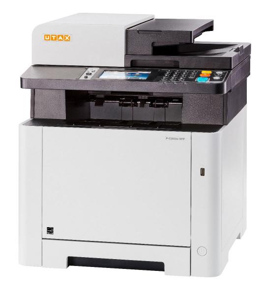Multifunctional Laser Color UTAX P-C2655W MFP A4, 26 ppm, 1200dpi, 512MB RAM, USB2.0, LAN, Wi-Fi, Duplex, Print, Copy, Scan, Fax 2