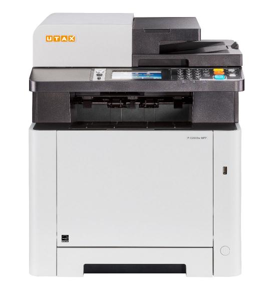 Multifunctional Laser Color UTAX P-C2655W MFP A4, 26 ppm, 1200dpi, 512MB RAM, USB2.0, LAN, Wi-Fi, Duplex, Print, Copy, Scan, Fax 0