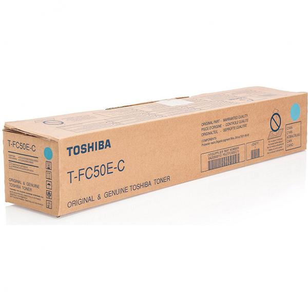 Toner Toshiba T-FC50E-C Cyan, OEM, 33600 pagini 1