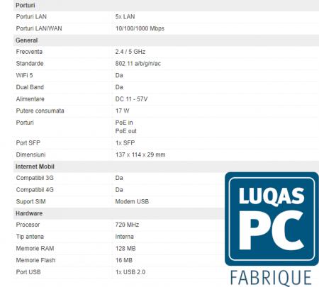 MIKROTIK MT RB962UiGS-5HacT2HnT hAP ac RouterOS [1]