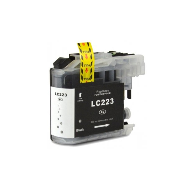 Brother lc223 (bk) cartuş compatibil 0