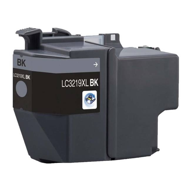 Brother lc3217 / lc3219 (bk) cartus compatibil 0