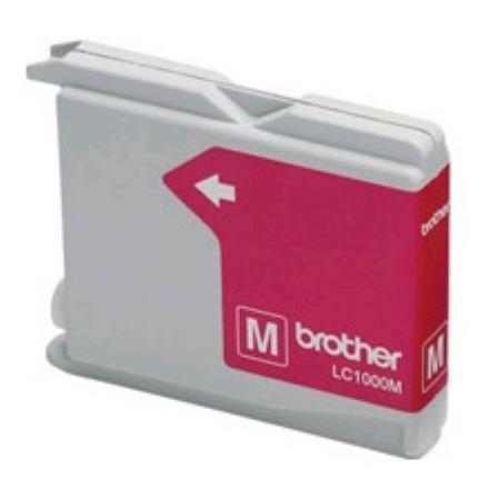 Brother lc960 / lc970 / lc1000 ( m ) compatibil 0