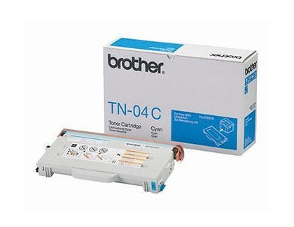 Brother TN-04 Cyan Original 0