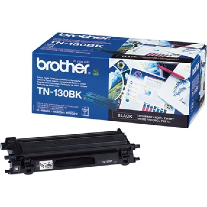 Brother TN130BK Toner Negru Original 0