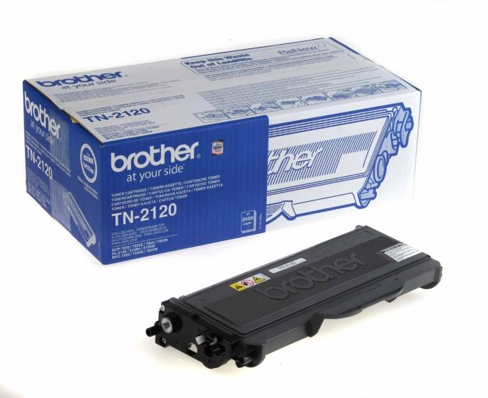 Brother TN2120 Toner Negru Original 0