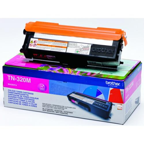 Brother TN320M Toner Magenta Original 1
