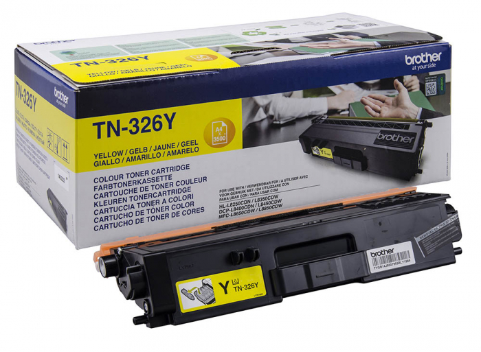 Brother TN326Y Toner Yellow Original 0