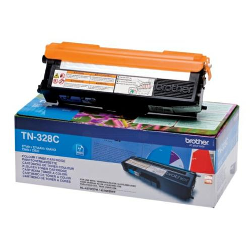 Brother TN328C Toner Cyan Original 0