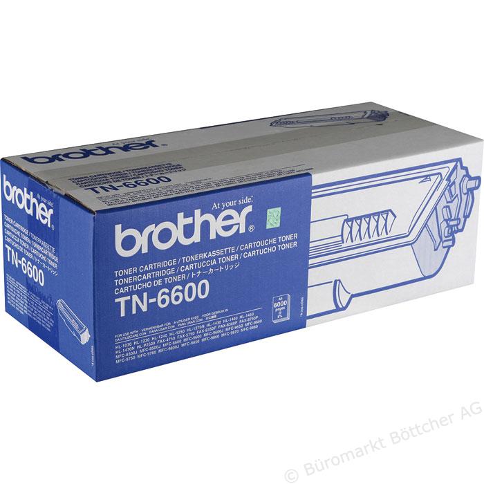 Brother TN6600 Toner Negru Original 0