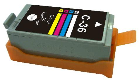 Canon cli-36 (col) cartuş compatibil 0