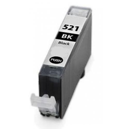 Canon cli-521 ( bk ) cartuş compatibil 0