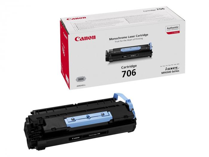 Canon CRG-706 Toner Negru Original 0