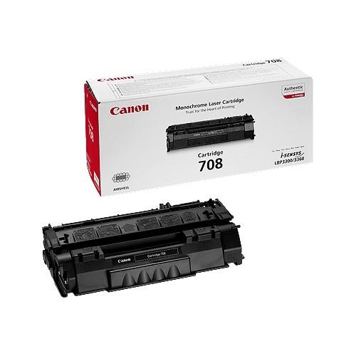 Canon CRG-708 Toner Negru Original 0
