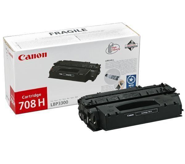 Canon CRG-708H Toner Negru Original 0
