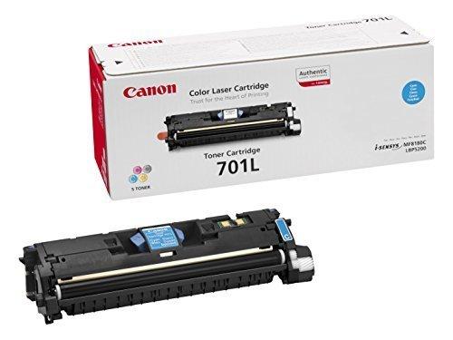 Canon EP-701LC Toner Cyan Original 0