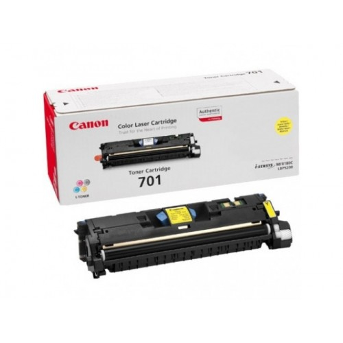 Canon EP-701Y Toner Yellow Original 0