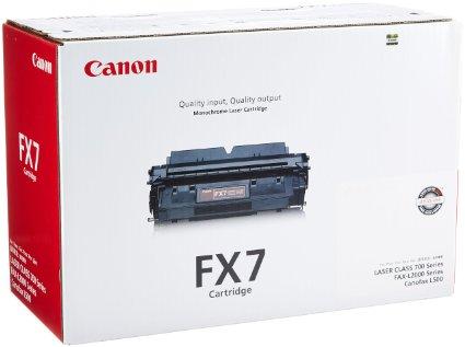 Canon FX-7 Toner Negru Original 0