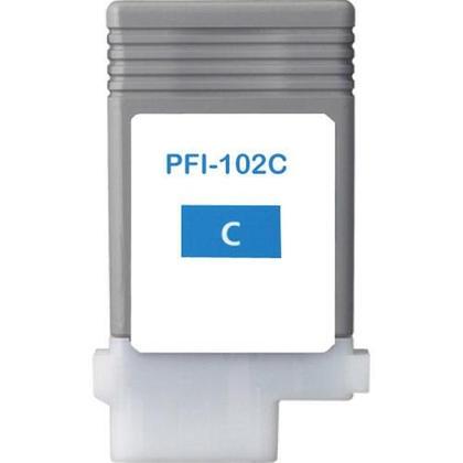 Canon pfi-102 ( c ) cartuş compatibil 0