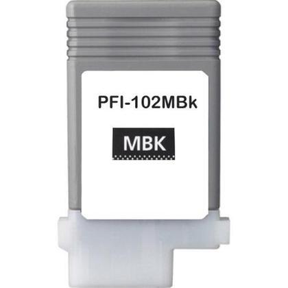 Canon pfi-102 ( matte bk ) cartuş compatibil [0]