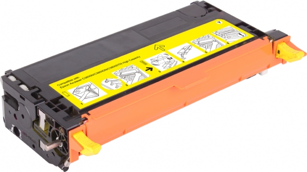 Epson c3800 / s051124 ( y ) toner compatibil 0
