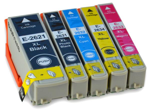 Epson t2631 ( bk ) cartuş cerneală compatibil 0