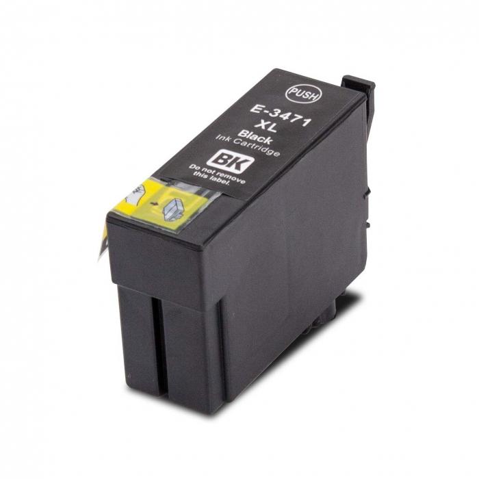 Epson t3471 (bk) cartuş compatibil 0