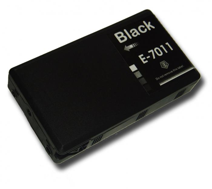 Epson t7011 (bk) cartuş cerneală compatibil 0