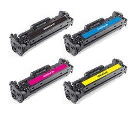 HP 201a / cf400a / crg-045 (bk) toner compatibil 0