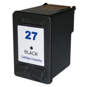 Hp 27 / c8727 ( bk ) cartuş compatibil [0]