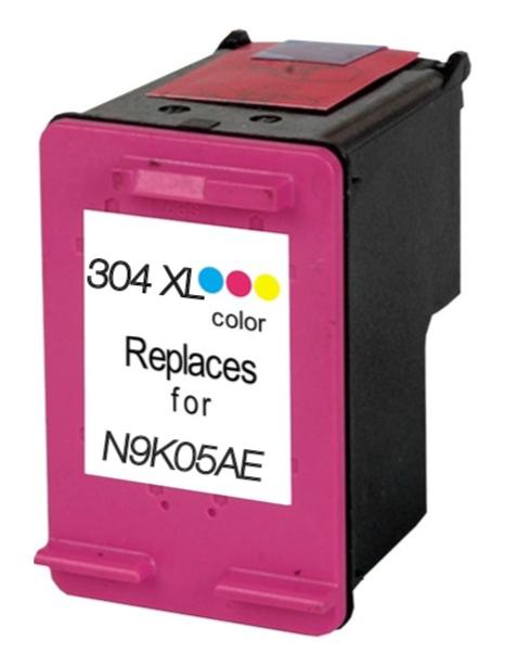 Hp 304xl / n9k05ae (col) cartuş compatibil 0