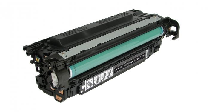 Hp 504a / ce250a ( bk ) toner compatibil 0