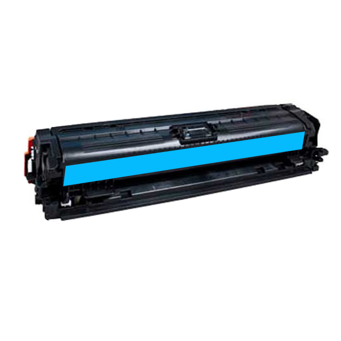 Hp 650a / ce271a (c) toner compatibil [0]