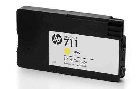 Hp 711xl / cz132a (y) toner compatibil 0