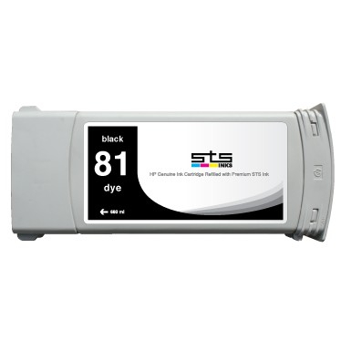 Hp 81 / c4930a ( bk ) cartuş compatibil 0