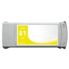 Hp 81 / c4933a ( y ) cartuş compatibil 0
