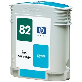Hp 82 / c4911a ( c ) cartuş compatibil 0