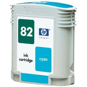 Hp 82 / c4911a ( c ) cartuş compatibil [0]