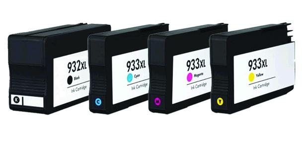 Hp 932xl / cn053a (bk) cartuş compatibil 0
