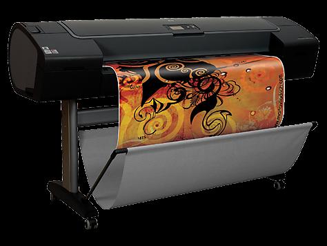 """Hp designjet z2100 44"""" photo printer q6677d 0"""