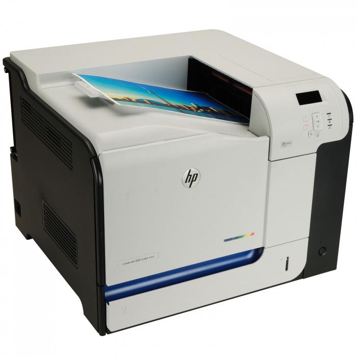 Hp laserjet enterprise 500 color m551n cf081a 0