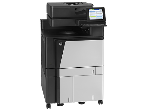 Hp laserjet enterprise flow m880z+ nfc/wireless 0