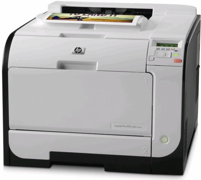 Hp laserjet pro 400 color m451nw ce956a 0