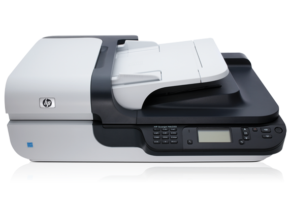 Hp scanjet n6350 networked document flatbed l2703a [0]