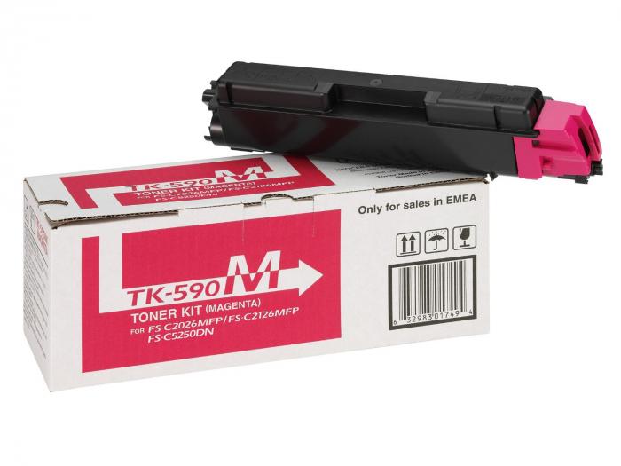 Kyocera TK-590M Toner Magenta Original 0
