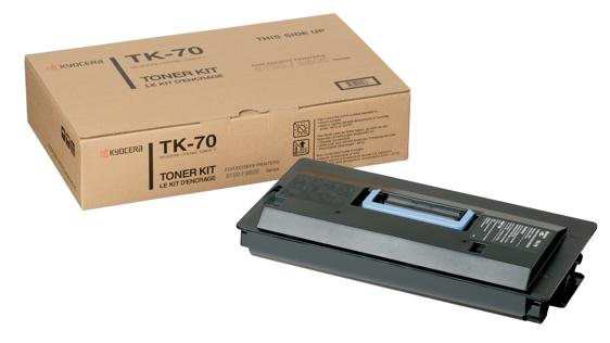 Kyocera TK-70 Toner Negru Original 0